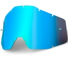 Линза 100% Racecraft/Accuri/Strata Blue Mirror/Blue Anti-Fog