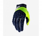 Мотоперчатки 100% Airmatic Glove Navy/Fluo Yellow XL