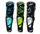 Наколенники Leatt 3DF Knee & Shin Guard Hybrid EXT Black/Lime L/XL