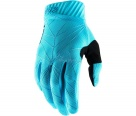 Мотоперчатки 100% Ridefit Glove Ice Blue/Black L