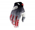 Мотоперчатки 100% Ridefit Glove Black/White M
