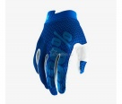 Мотоперчатки 100% ITrack Glove Blue/Navy S