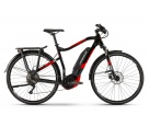 Велосипед Haibike SDURO Trekking 2.0 men 500Wh 10sp Deore black\red\white, size L