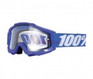 Маска 100% Accuri Enduro Reflex Blue / Clear Dual Lens