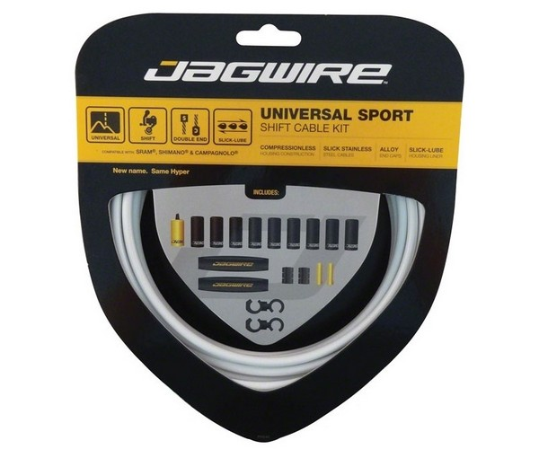Jagwire Universal Sport Shift Kit white