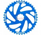 Звезда задняя Kore Rear Sprocket 40T Shimano 10 SPD Blue