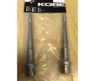 Ось для педалей Kore Torsion SX Axle Kit 2x CR 9/16