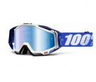 Маска 100% Racecraft Cobalt Blue-Mirror Blue Lens