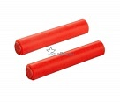 Грипсы SUPACAZ RED XL SILICONE GRIPS