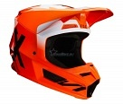 Мотошлем Fox V1 Werd Helmet Flow Orange XL 61-62cm