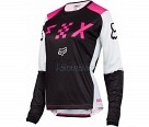 Мотоджерси женская Fox Switch Womens Jersey Black/Pink XL