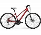 Велосипед Merida Crossway 20-D Lady К:700C Р:XS(42cm) MattX'MasRed/Black/DarkRed