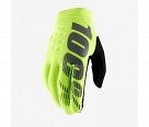 Мотоперчатки 100% Brisker Glove Fluo Yellow S
