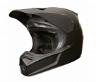 Мотошлем Fox V3 Carbon Helmet Matte Black S 54.6-55.8cm