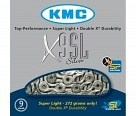 Цепь KMC X9SL 116 links silver 9ск
