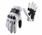 Мотоперчатки Fox Bomber Glove White/Black L