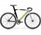 Велосипед Merida Reacto Track 500 К:700C Р:L(56cm) Silver/MetallicBlack/Yellow
