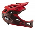 Велошлем Leatt DBX 3.0 Enduro Helmet Ruby M 55-59cm