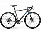 Велосипед Merida Mission CX400 К:700C Р:L(56cm) MattSilver/Blue